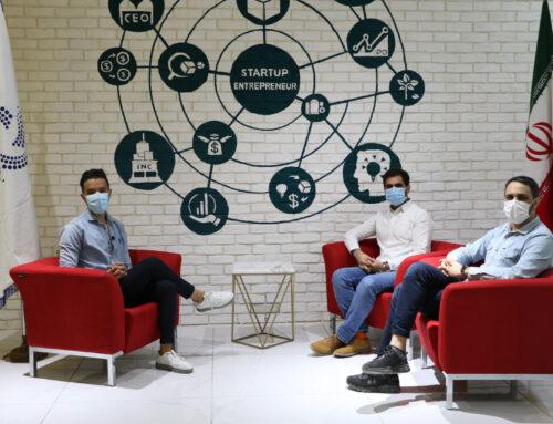 مصاحبه با شرکت های پارک علم و فناوری هرمزگان در برج فناوری هرمز ( قسمت دوم شرکت خانه نارنجی )