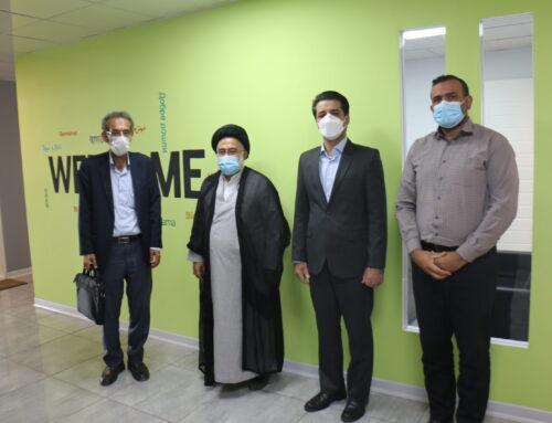 بازدید حجت الاسلام اقای تقوی نماینده ولی فقیه در دانشگاه علوم پزشکی هرمزگان